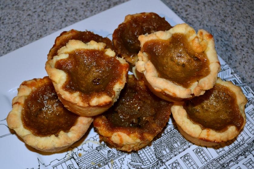 Raisin butter tarts