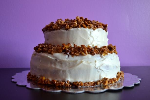 Carrot Wedding Cake
