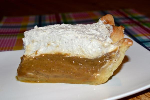 Gingerbread Cream Pie